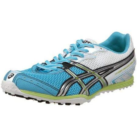 ASICS Women's Hyper-Rocketgirl XC Track Shoe, Turquoise/Lightning/Lime, 10.5 B