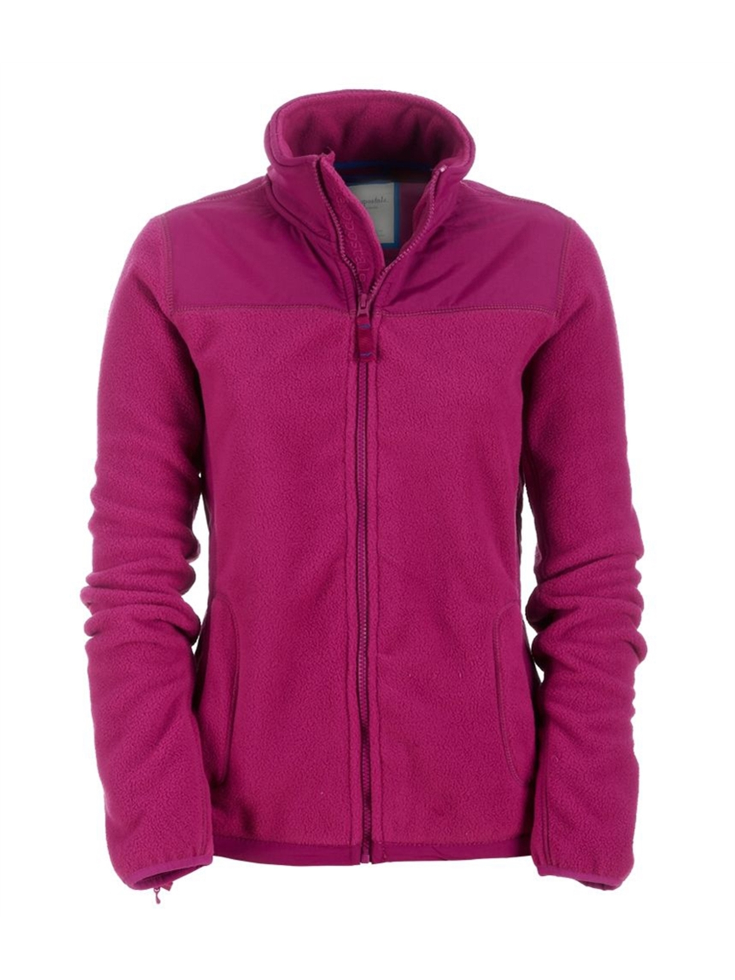 Aeropostale Juniors Fleece Full Zip Lightweight Field Jacket