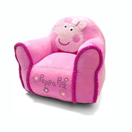 Enjoyable Nickelodeon Peppa Pig Bean Chair Onthecornerstone Fun Painted Chair Ideas Images Onthecornerstoneorg