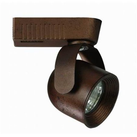 Light 50W Low Voltage HT System Track Head, Rust Low Voltage Track Heads Compatible