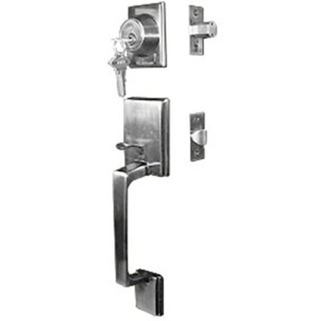 Jako Door Lock Main Entrance Manhattan, Antique Brass - -