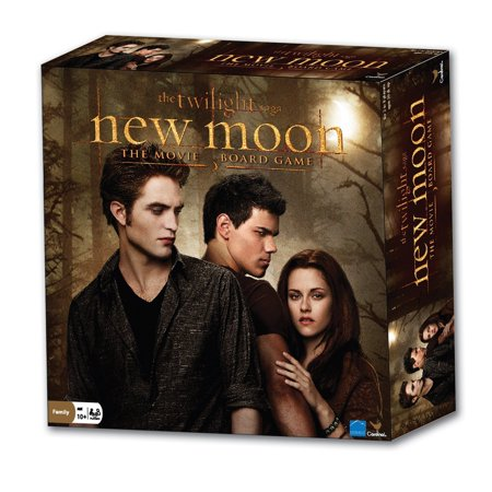The Twilight Saga New Moon Movie Board Game  Enter The World Of The Twilight Saga And Reunite Bella And Edward By Cardinal Industries