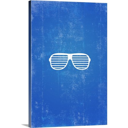 Great BIG Canvas | Kate Lillyson Premium Thick-Wrap Canvas entitled Shutter Shades silhouette art