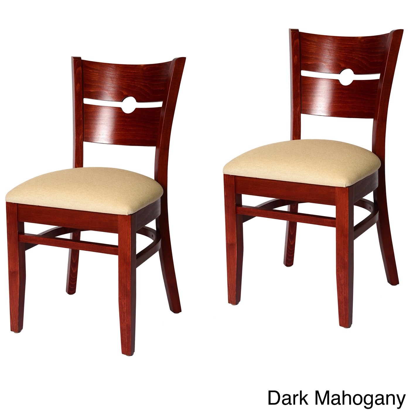 Beechwood Mountain Coin Back Chairs (Set of 2) by Overstock