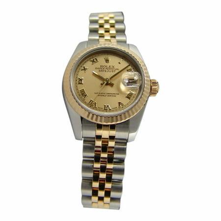 Rolex Datejust 179173 Two Tone Women Watch (Certified Authentic & Warranty)
