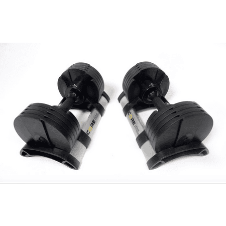Core Home Fitness Adjustable Dumbbell Pair 5-50