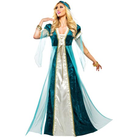 Emerald Juliet Adult Costume - Juliet Capulet Costume