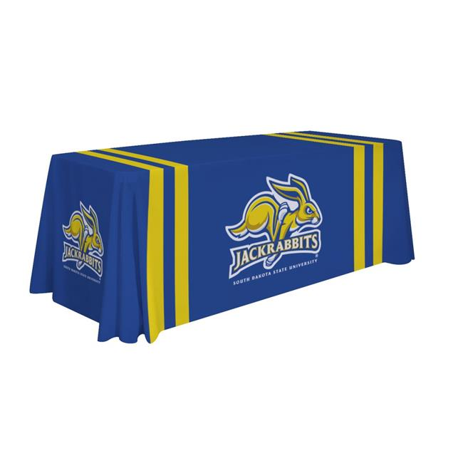 Victory Corps 810026SDS-002 6 ft. NCAA South Dakota State Jackrabbits Dye Sublimated Table Throw - No.002