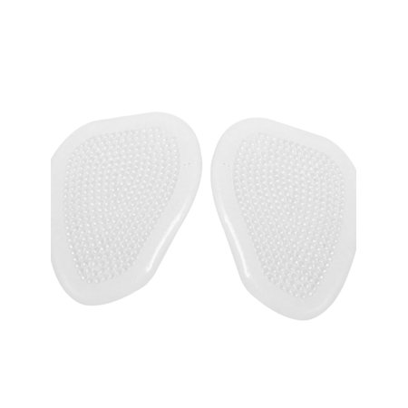 Unique Bargains Women Transparent Silicone Foot Pads Front Insoles for High Heel Shoes