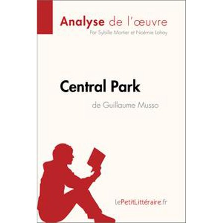 Central Park de Guillaume Musso (Analyse de l'oeuvre) - eBook