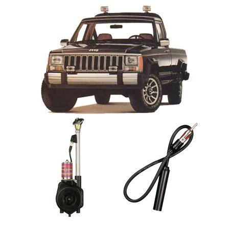 Jeep Comanche Truck 1985-1992 Factory Replacement Radio Stereo Powered Antenna