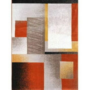 Home Dynamix Tremont Collection 3204 Modern Geometric Area Rug
