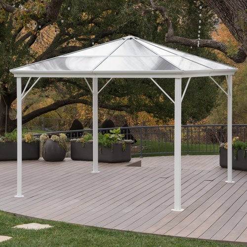 Freeport Park Michael Hardtop 10 Ft. W x 10 Ft. D Aluminum Patio Gazebo