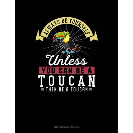 Always Be Yourself Unless You Can Be a Toucan Then Be a Toucan: 6 Columns Columnar Pad Paperback ()
