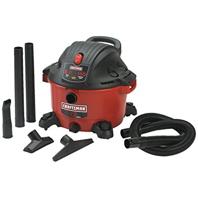 Craftsman 9-17765 12 Gallon 5.0 Peak Horsepower Wet and Dry Vacuum by Craftsman