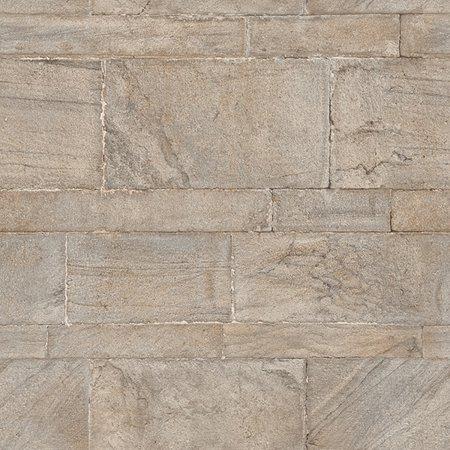NuWallpaper Beige Sandstone Wall Peel & Stick (Sandstone Wall)