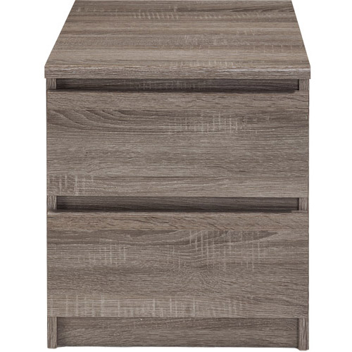 Laguna 2-Drawer Nightstand, Truffle, Set of 2