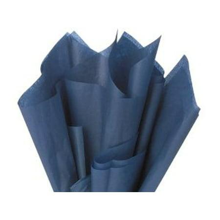 48 Large NAVY Gift Wrap Pom Pom Tissue Paper - Navy Blue Tissue Paper