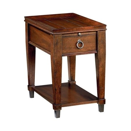Beaumont Lane Chairside Table in Rich Mahogany - image 2 of 2