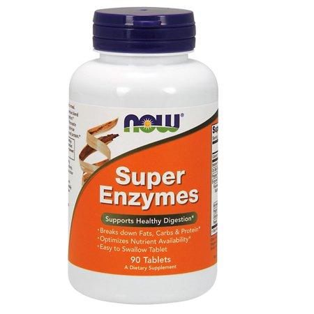 Super Enzymes Now Foods 90 Tabs