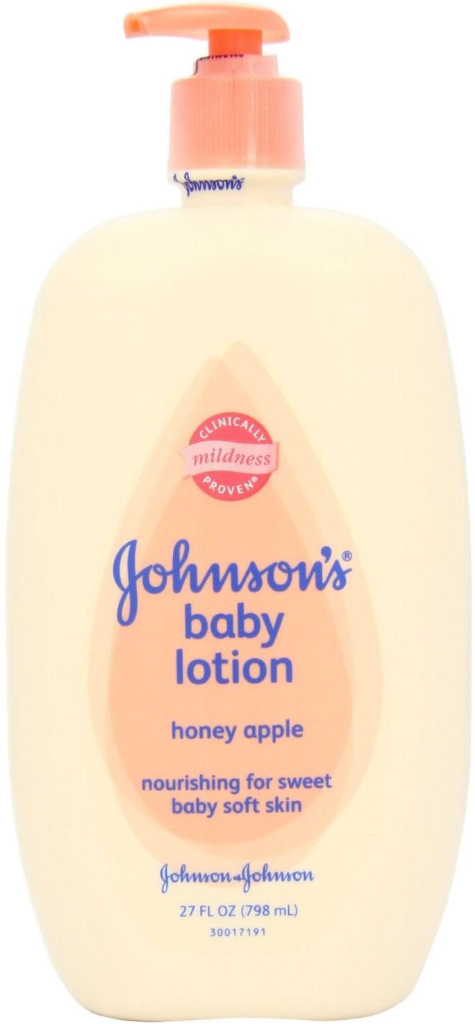 6 Pack JOHNSON'S Baby Lotion, Honey Apple 27 oz by Johnson%27s