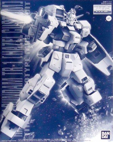 Premium Bandai P-BANDAI RX-121-1 Gundam TR-1 Hazel Custom MG 1 100 Model Kit by Bandai Hobby