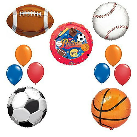 The Ultimate Sports Theme Birthday Party Supplies and Balloon Decorating - Cars Birthday Party Theme