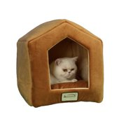 Armarkat Brown Cat Bed Size, 18-Inch by 14-Inch, C27CZS/MH