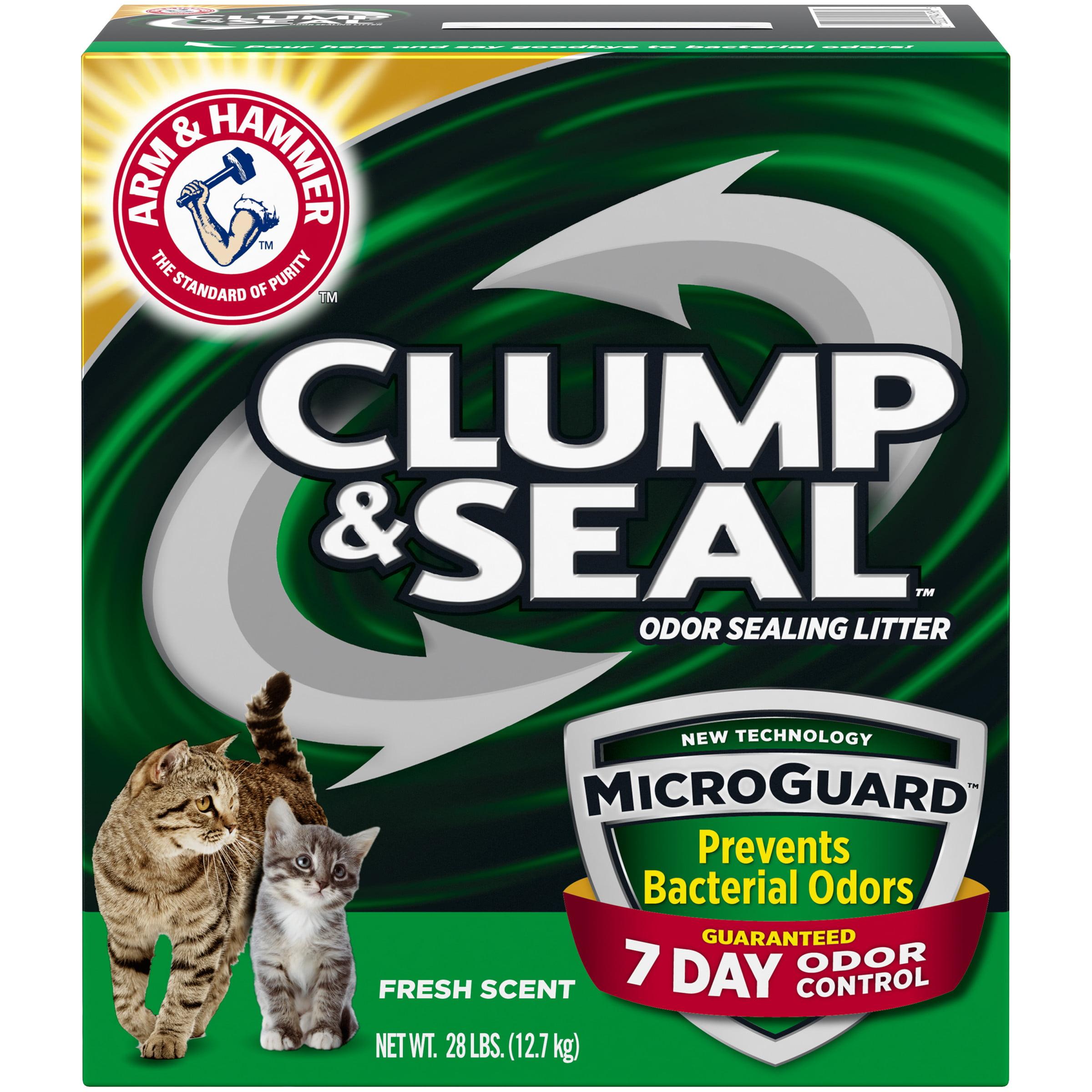 ARM & HAMMER Clump & Seal MicroGuard Litter, 28lb