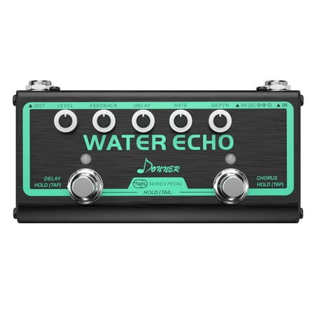 Fancy Water Echo Pedal Effect Donner Multi Guitar Effect Pedal Chain 2 Mode Chorus and