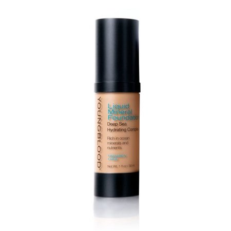 YoungBlood Liquid Mineral Foundation-Shell