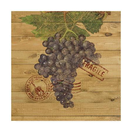 Trademark Fine Art 'Grape Crate III' Canvas Art by Nobleworks - Grape Crate