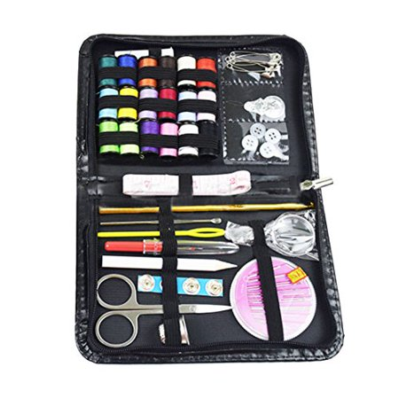 Sewing Set,43pcs Multi-function Sewing Box Kit for Quilting Stitching Hand Sewing By Hmane