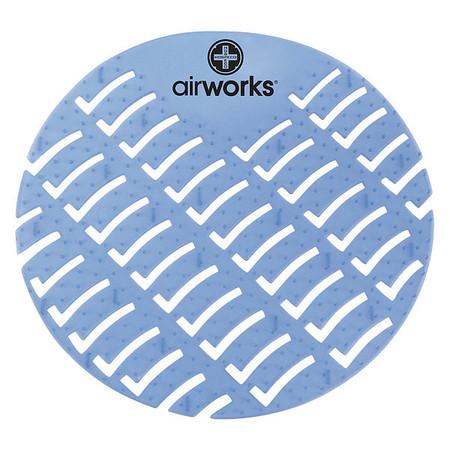 Urinal Screen,Round,Eucalyptus,PK60 AIR WORKS AWUS001