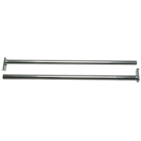 Stanley Hardware 193028 30 48 Zinc Adjule Closet Rods