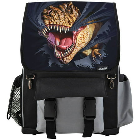 High Quality Tearing T-Rex Dinosaur School Backpack For Boys, Girls and Kids, Multiple Colors Available