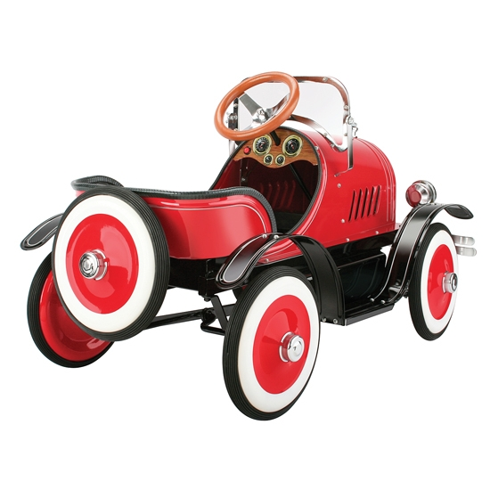Model A Roadster Pedal Car, Red by