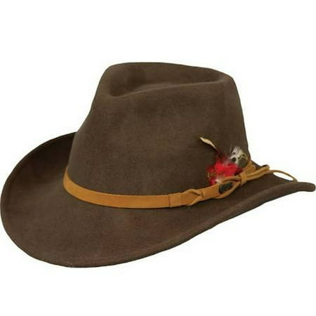 Outback Trading Hat Mens Quality Randwick Water Repellent Wool 1321 - Australian Outback Hat