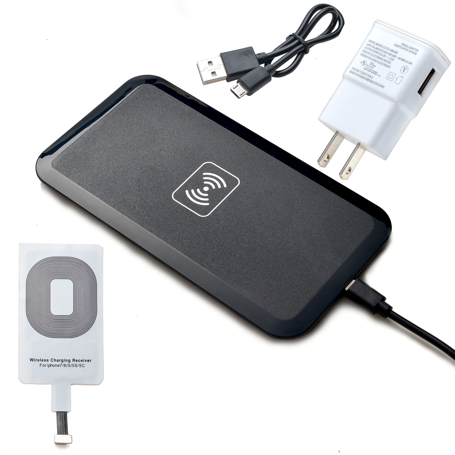 wireless battery charger Just start wireless battery charger app, press start charge button and your phone will use nearby electromagnetic fields to fully recharge battery.
