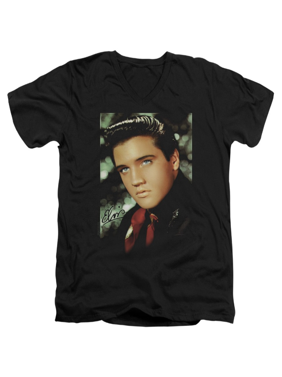 Elvis Presley Face Adult Tank Top T-shirt