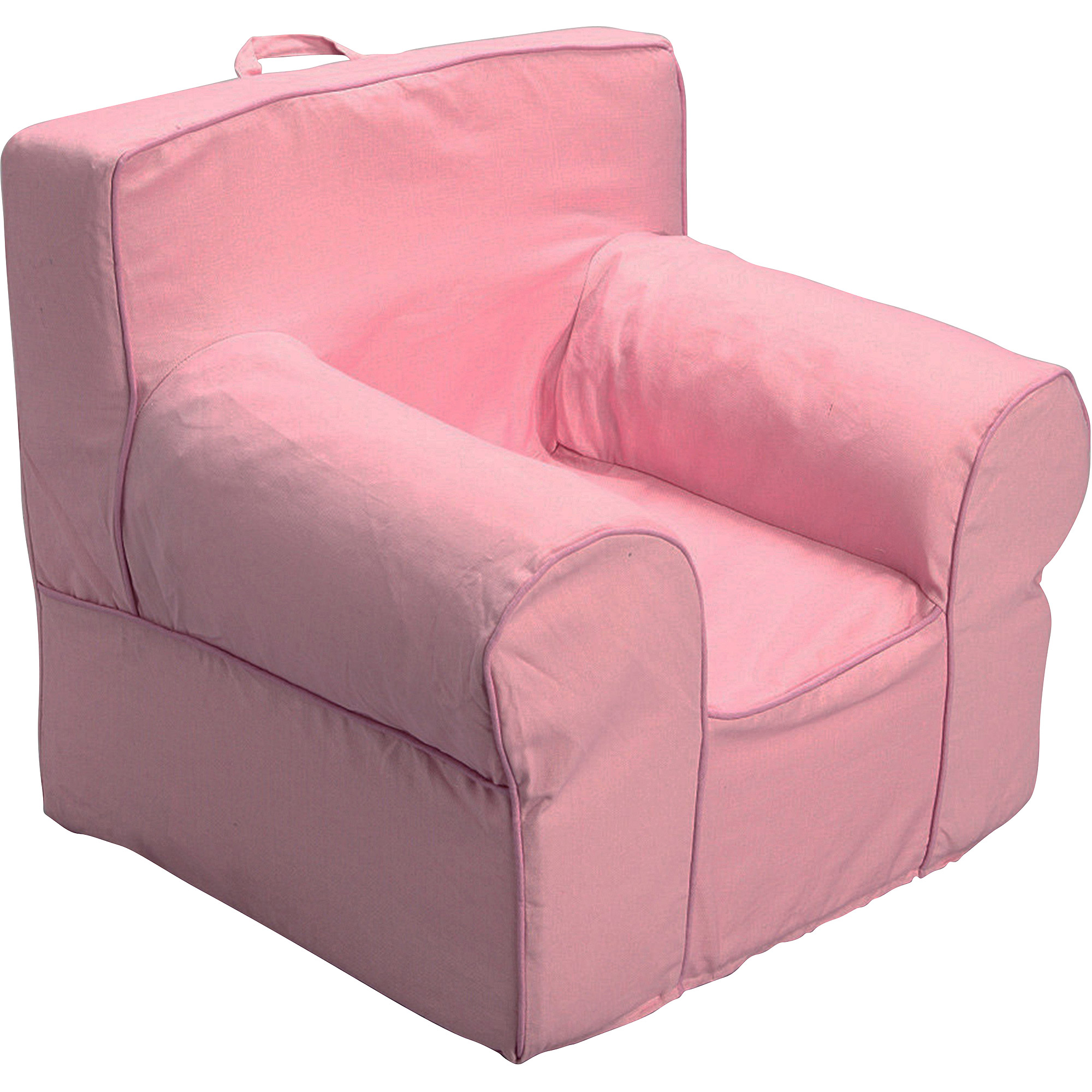 medium pink foam chair slip cover plus i walmart com