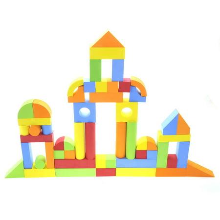 Creative Educational EVA Foam Building Blocks - 131 Pcs