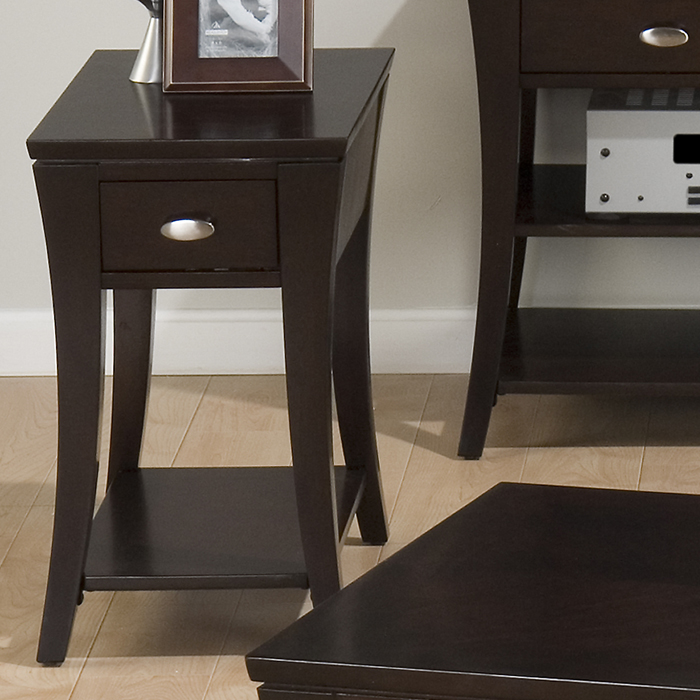 Jofran 629-7 Manhattan Espresso Chairside Table