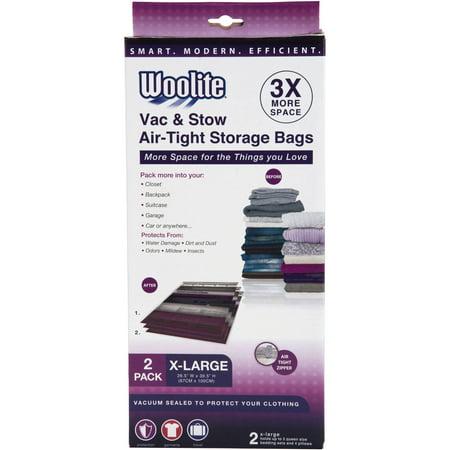 Woolite 2-Piece x-Large Vacuum Storage Bags, 26.5