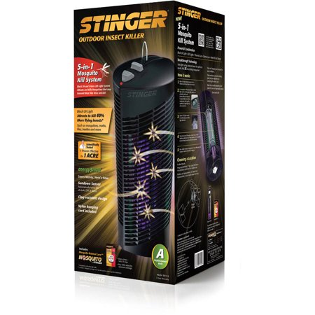Stinger 1 Acre Outdoor 5-in-1 Mosquito Kill System, BK510