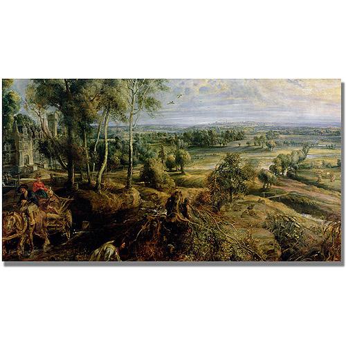 """Trademark Fine Art """"An Autumn Landscape III"""" Canvas Art by Peter Rubens"""