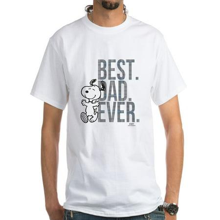 9269b446351 CafePress - CafePress - Snoopy Best Dad Ever White T Shirt - Men s Classic T -Shirts - Walmart.com