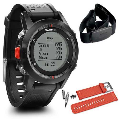 Garmin 010-01040-10 Fenix Performer Bundle Outdoor GPS Watch New