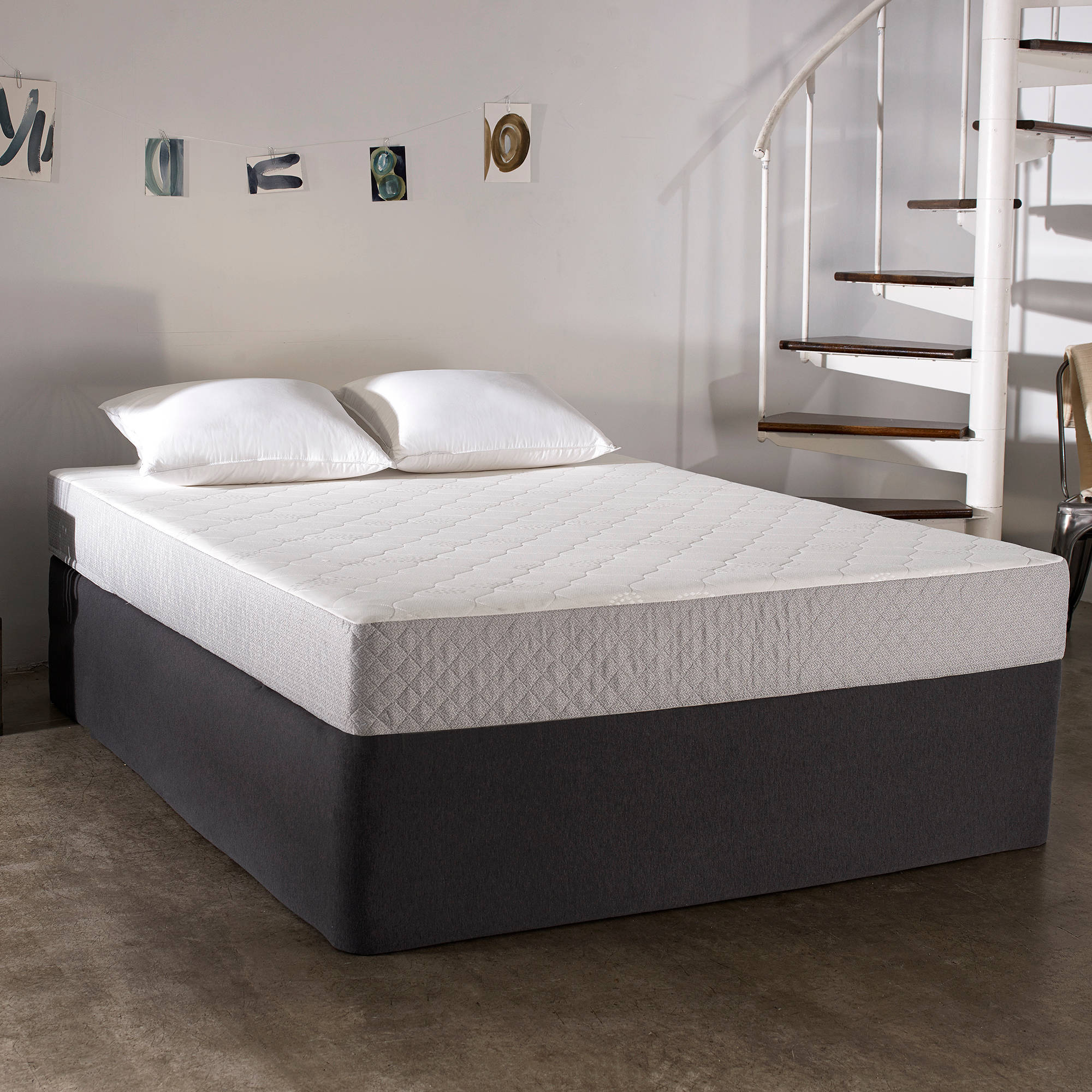 Sleep Innovations Sage Gel Memory Foam Mattress, 8""