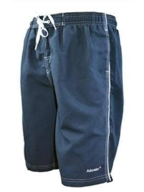 Adoretex Men's Swim Trunks Watershort Swimsuit with Mesh Lining (M0001) - Navy - Small